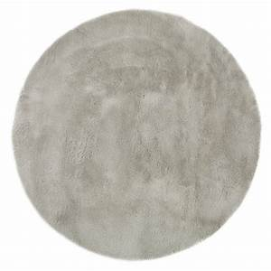 Tapis Rond Design : tapis rond gris clair pilepoil pour chambre enfant les enfants du design ~ Teatrodelosmanantiales.com Idées de Décoration