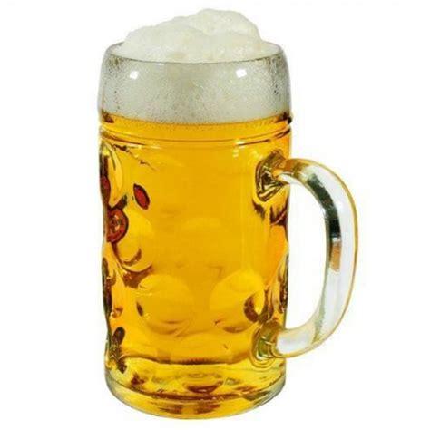 la cuisine allemande chope de bière géante en verre cadeau maestro