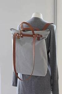 Tasche Als Rucksack : hellgrauer rucksack aus canvas auch als tasche tragbar ~ Eleganceandgraceweddings.com Haus und Dekorationen