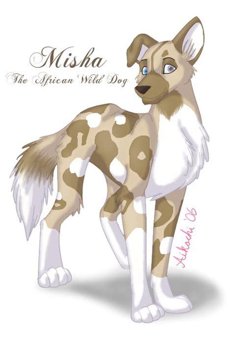 misha  african wild dog  aikachi  deviantart