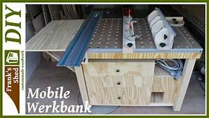 Werkstatt Selber Bauen : mobile werkbank selber bauen werkstatt einrichten tischkreiss ge fr stisch franks shed ~ Orissabook.com Haus und Dekorationen