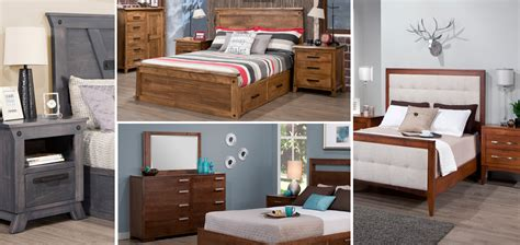 Wood Bedroom Furniture by Crafted Solid Wood Bedroom Furniture