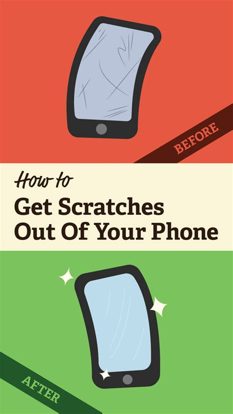 how to remove scratches from your phone
