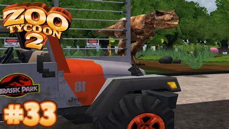 rex jurassic paddock park zoo tycoon let play
