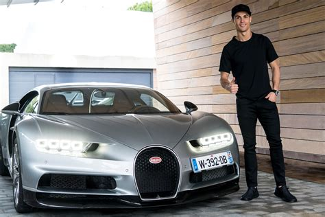 If accurate, ronaldo's centodieci will join a collection that already includes a bugatti chiron, a bugatti veyron, a mclaren senna, a pair of lamborghini aventadors, a ferrari f12 tdf, and even a. Cristiano Ronaldo tests a Bugatti Chiron - Automotive Blog