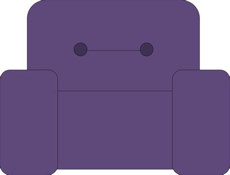 Chair Clipart Cartoon