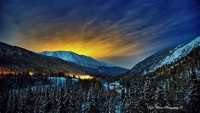 Alaska Wallpapers Winter Nights Wallpapersafari Code