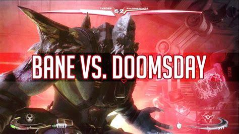 bane vs doomsday injustice gods among us gameplay