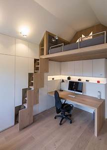 Kleines Ecksofa Für Jugendzimmer : ma gefertigtes jugendzimmer mit stauraum f r einen 17 j hrigen ~ Indierocktalk.com Haus und Dekorationen