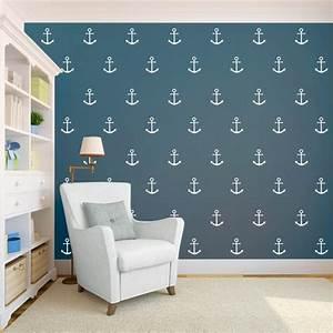 Papier Peint Bébé Garcon : chambre b b gar on de style nautique en 23 belles photos ~ Nature-et-papiers.com Idées de Décoration