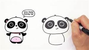 Cute Drawings Of Pandas How To Draw A Cute Panda Easy ...