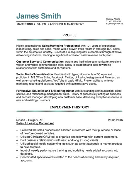 resume template 23 cover letter for headline sles
