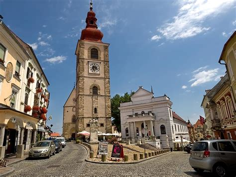 photo slovene square  ptuj slovenia