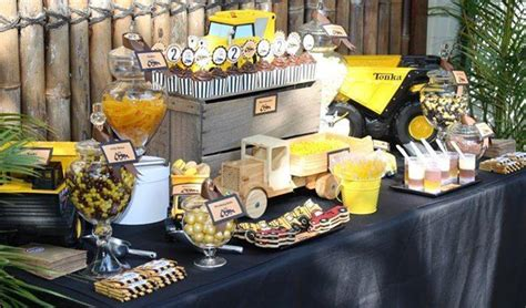 construction truck themed 1st birthday party planning ideas truck themed 2nd birthday party kara 39 s party ideas