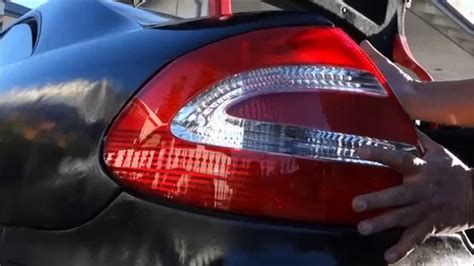 How Install Replace Tail Light Clk Class