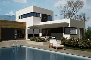 prix construction maison toit terrasse budget maisoncom With prix d un toit terrasse