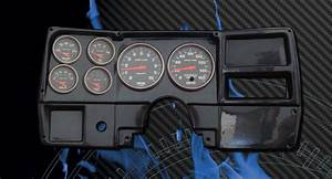 84-87 Chevy Truck Cf Dash W   Sport Comp Gauges