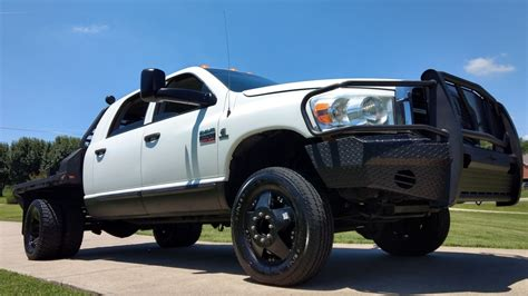 Dodge Ram Lifted by Lift Bed 2008 Dodge Ram 3500 Lifted For Sale