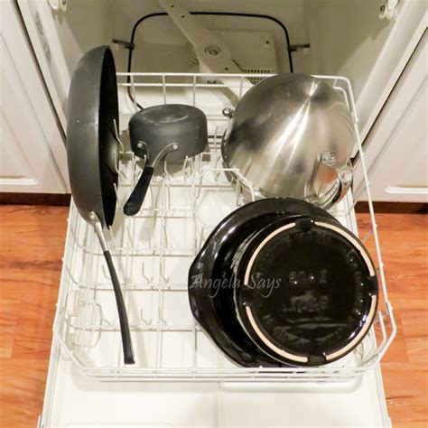 dishwasher load dishes pots come clean loading pans says wash way water angela dish don enough bowls own rack take