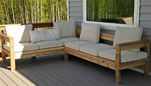 Ryobi nation for Outdoor wood sectional sofa plans