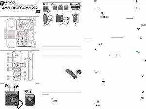 Manual Geemarc Amplidect Combi 295  Page 1 Of 2   English