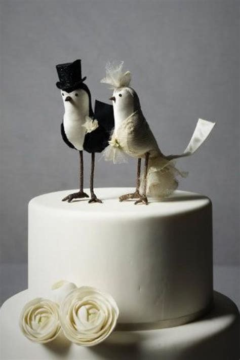 birds wedding cake topper cake topper bird cake topper bhldn 2066859 weddbook