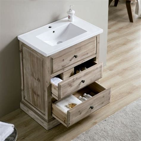 rustic style bathroom vanity   perfect
