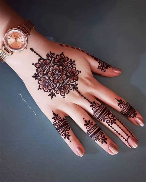 latest mehndi designs simple  easy collection