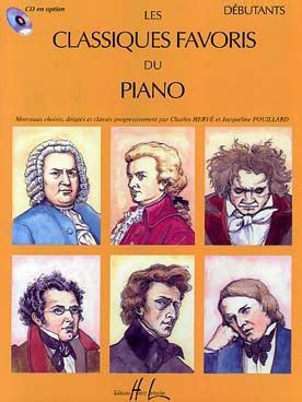 les classiques favoris du piano debutants en  piano