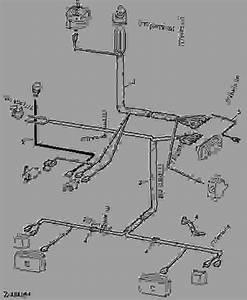 Wiring Harness Fuse Box-headlights   01f09  - Combine John Deere 955 - Combine
