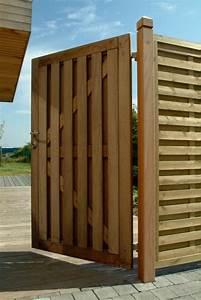 Portillon Bois Jardin : portillon isa palissades en bois exotique palissades 91 77 92 93 94 95 75 78 menuiserie ~ Preciouscoupons.com Idées de Décoration