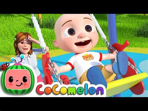 playground song cocomelon nursery rhymes kids