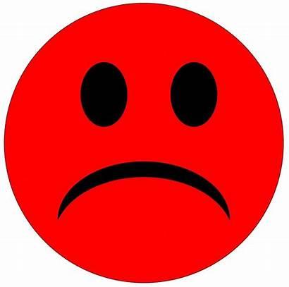 Sad Face Clipart Smiley Drawing Clip Unhappy