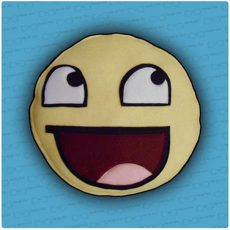Awesome Face Meme - awesome face meme pillow by n3rdygirl on deviantart