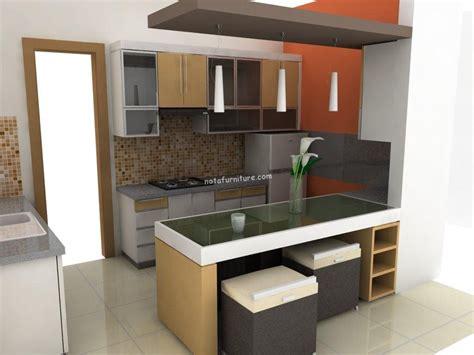 kitchen set atas desain dapur sesuai tipe rumah nota furniture