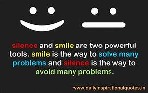 Inspirational Q... Smile N Silence Quotes