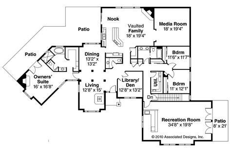 ranch house plans hillcrest    designs