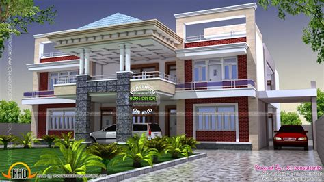north indian luxury house kerala home design  floor plans  houses