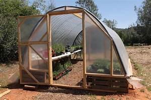 Faire Sa Serre En Polycarbonate : permaculture construction d 39 une serre pour 100 euros ~ Premium-room.com Idées de Décoration