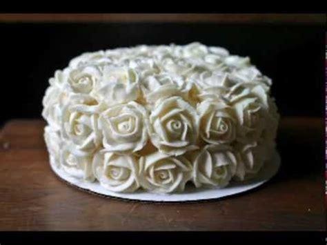 buttercream roses ideas  pinterest icing
