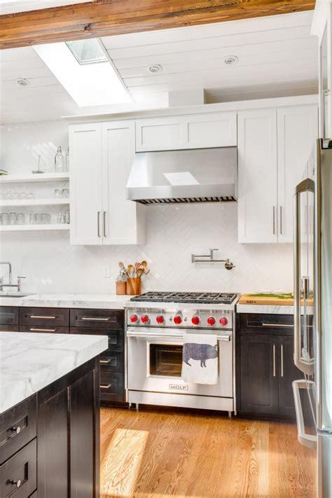 black  white modern kitchen  stainless steel