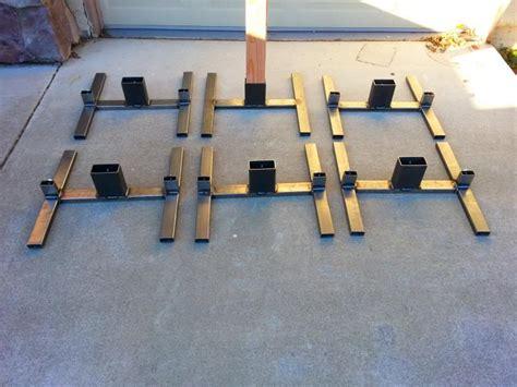 combo welded steel target stand calgunsnet