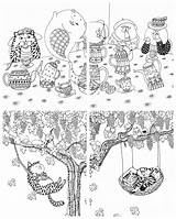 Million Coloring Cats Kayliebooks sketch template