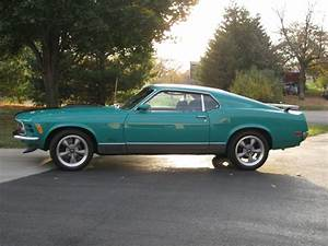 Grabber Green 1970 Ford Mustang Mach 1 For Sale | MCG Marketplace