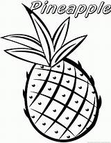 Coloring Pineapple Fruit Printable Pineapples Abacaxi Fruta Sheet Colorir Plant Clipart Cartoon Vegetable Popular Colorironline Coloringfolder Desenhos Onlinecoloringpages sketch template