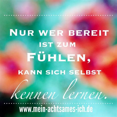 Inspirationen  Mein Achtsames Ich  Quotes Pinterest