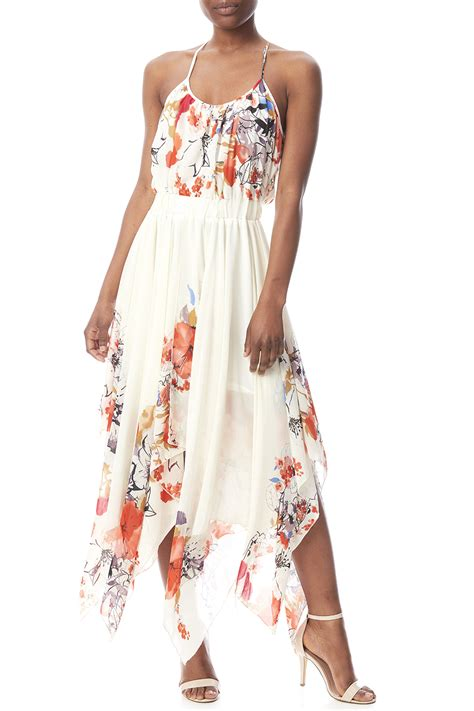 Bishop + Young Floral Hanky Hem Dress From South Carolina