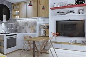 4 idees pour amenager un petit appartement de 30m2 With idee amenagement appartement 30m2