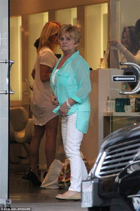 Pamela Anderson make very rare appearance with mother ...