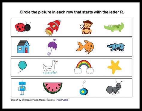 4 workable esl worksheet ideas for teaching the 146 | Sounds of Letter R 1024x800